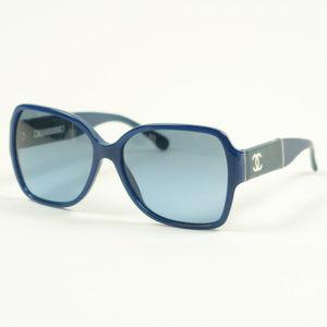 Chanel 5230Q Cobalt Blue Gradient Sunglasses